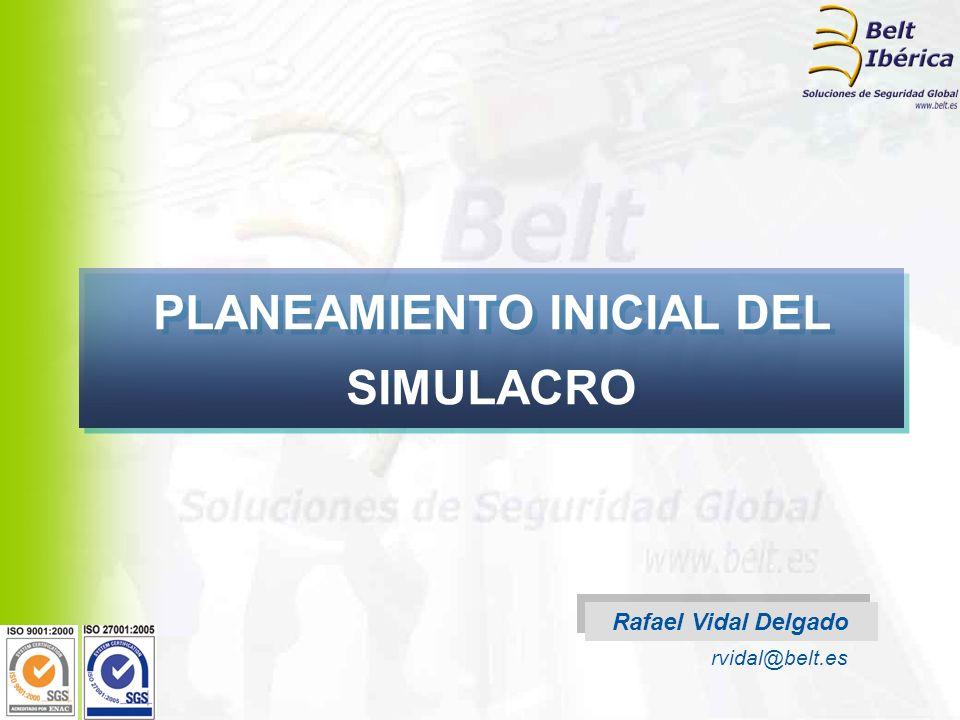 PLANEAMIENTO INICIAL DEL SIMULACRO