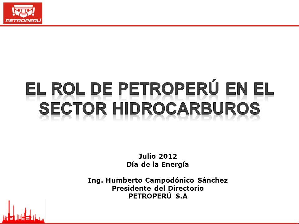 el rol de Petroperú en el sector hidrocarburos