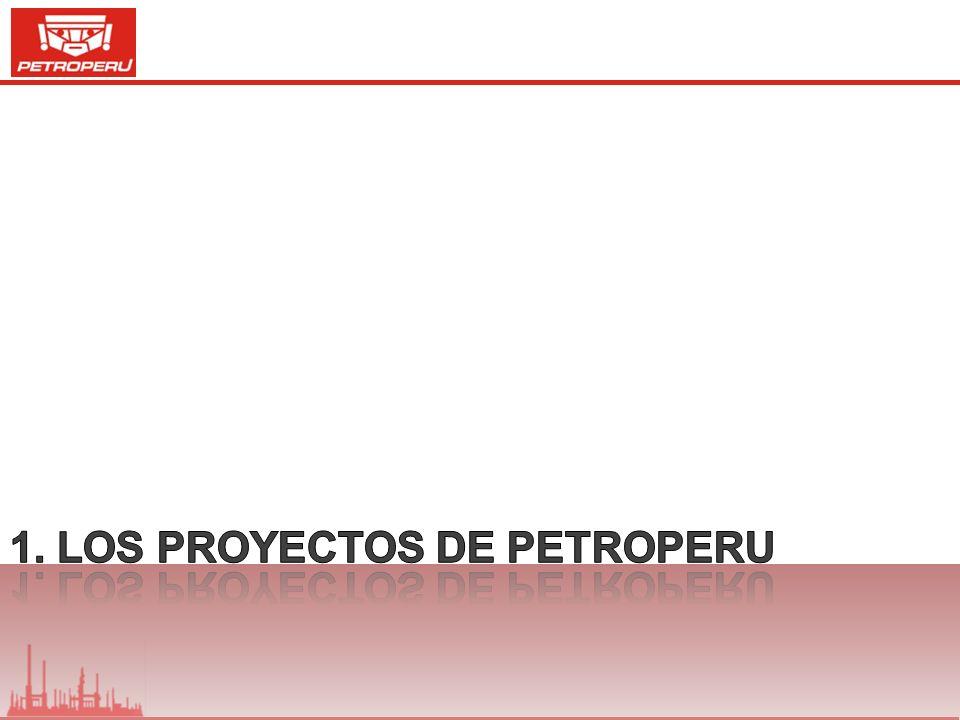 1. Los Proyectos de PETROPERU