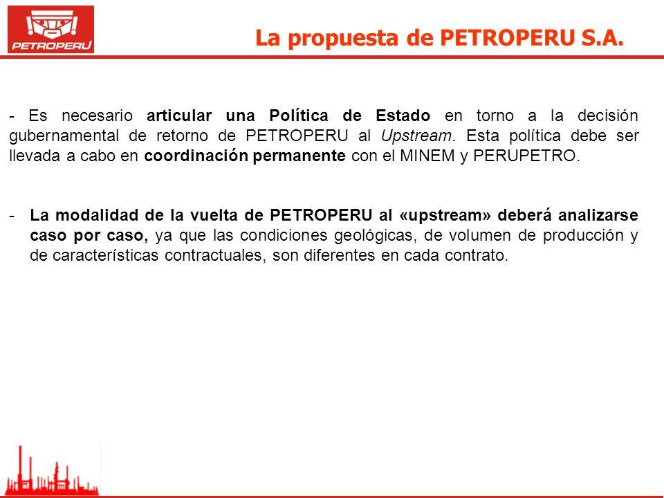 La propuesta de PETROPERU S.A.