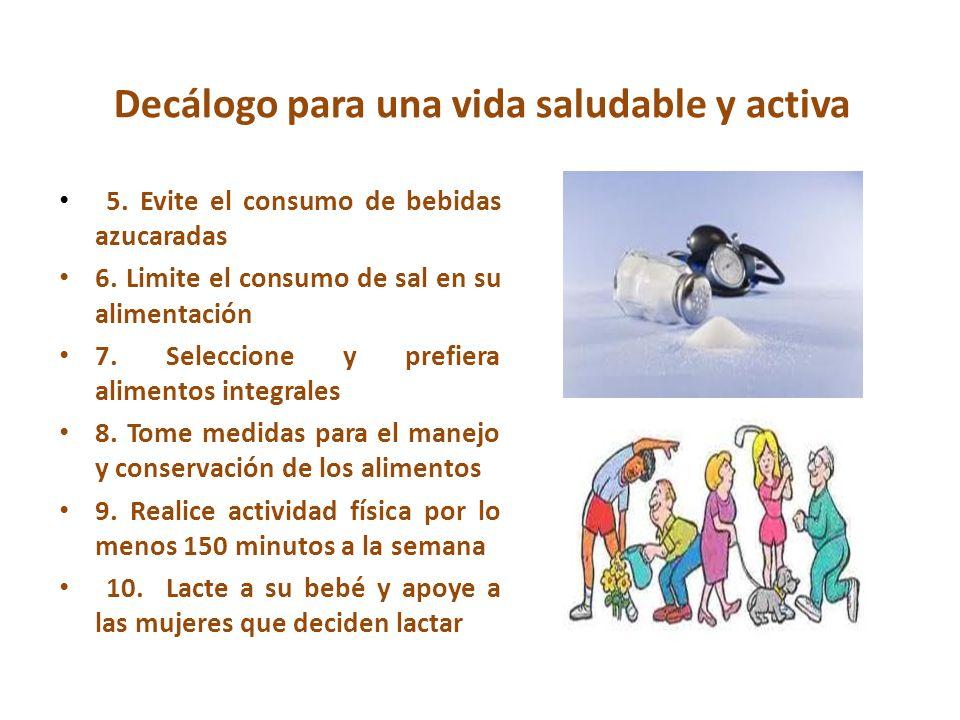 Decálogo para una vida saludable y activa
