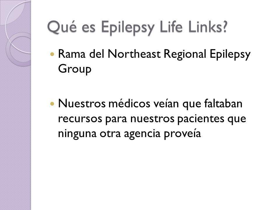 Qué es Epilepsy Life Links