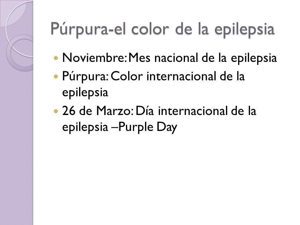 Púrpura-el color de la epilepsia