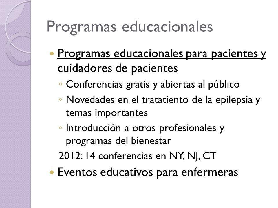 Programas educacionales