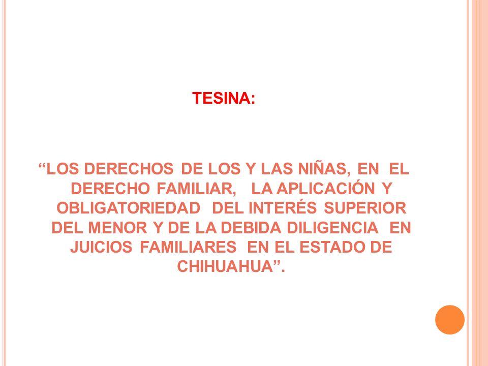 TESINA: