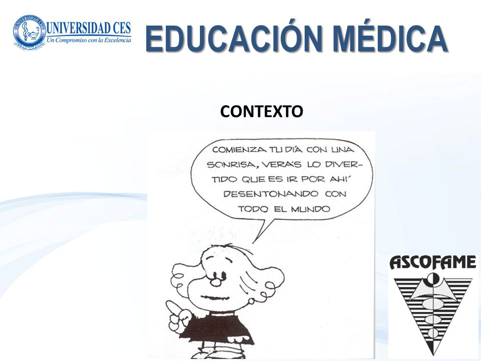 EDUCACIÓN MÉDICA CONTEXTO
