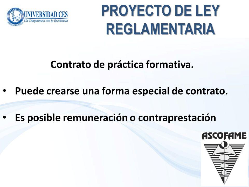 PROYECTO DE LEY REGLAMENTARIA