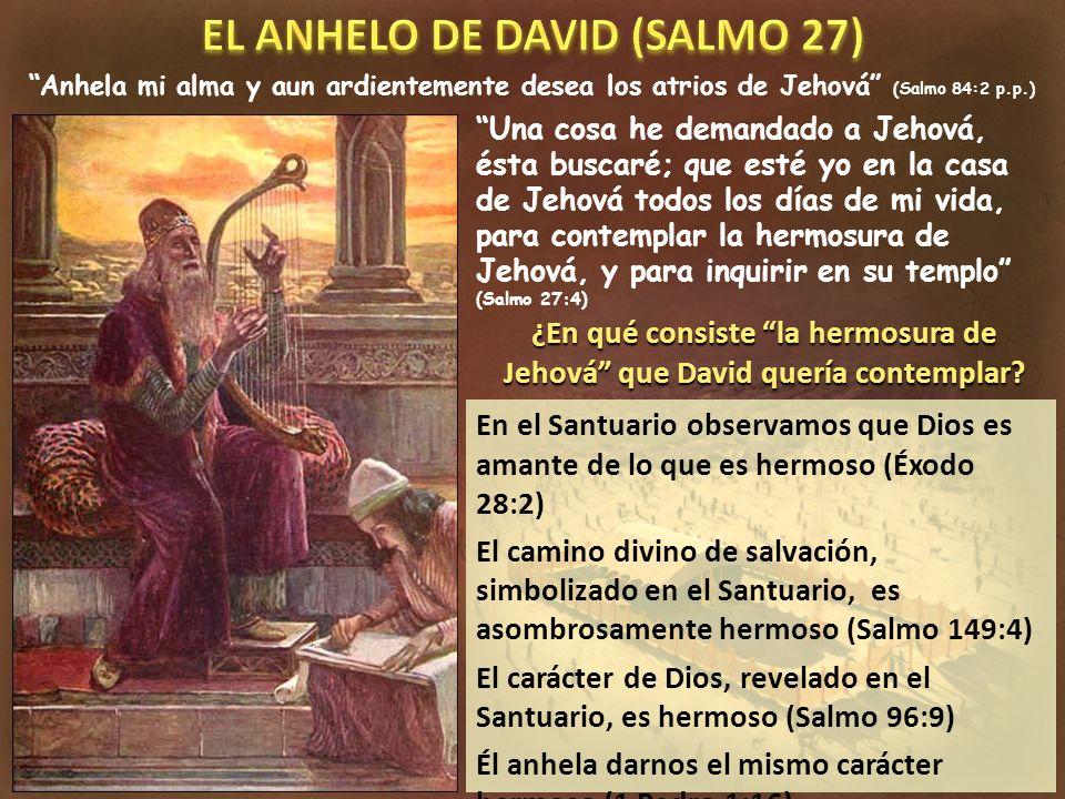 EL ANHELO DE DAVID (SALMO 27)
