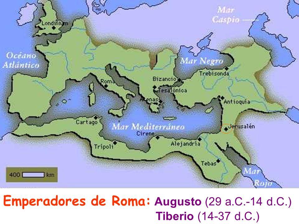 Emperadores de Roma: Augusto (29 a.C.-14 d.C.)