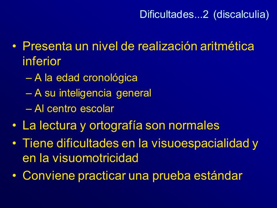 Dificultades...2 (discalculia)