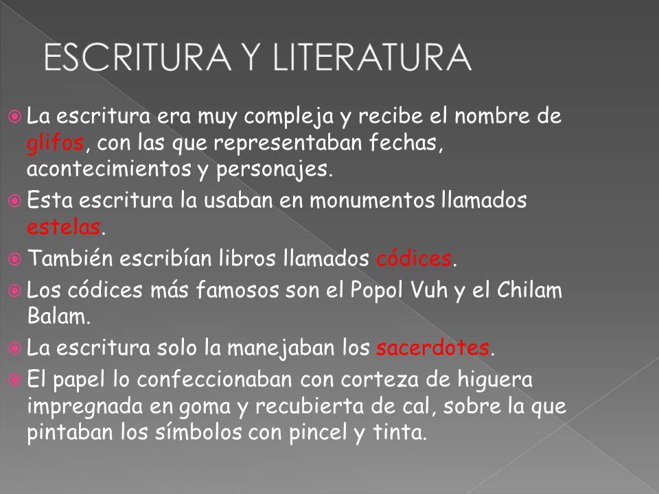 ESCRITURA Y LITERATURA