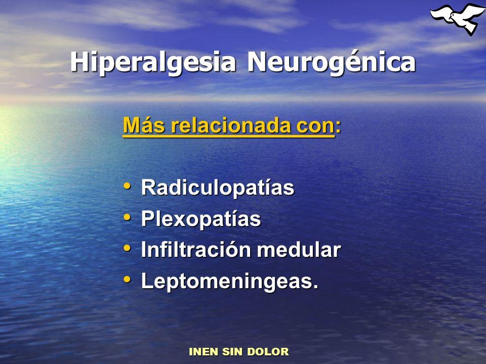 Hiperalgesia Neurogénica