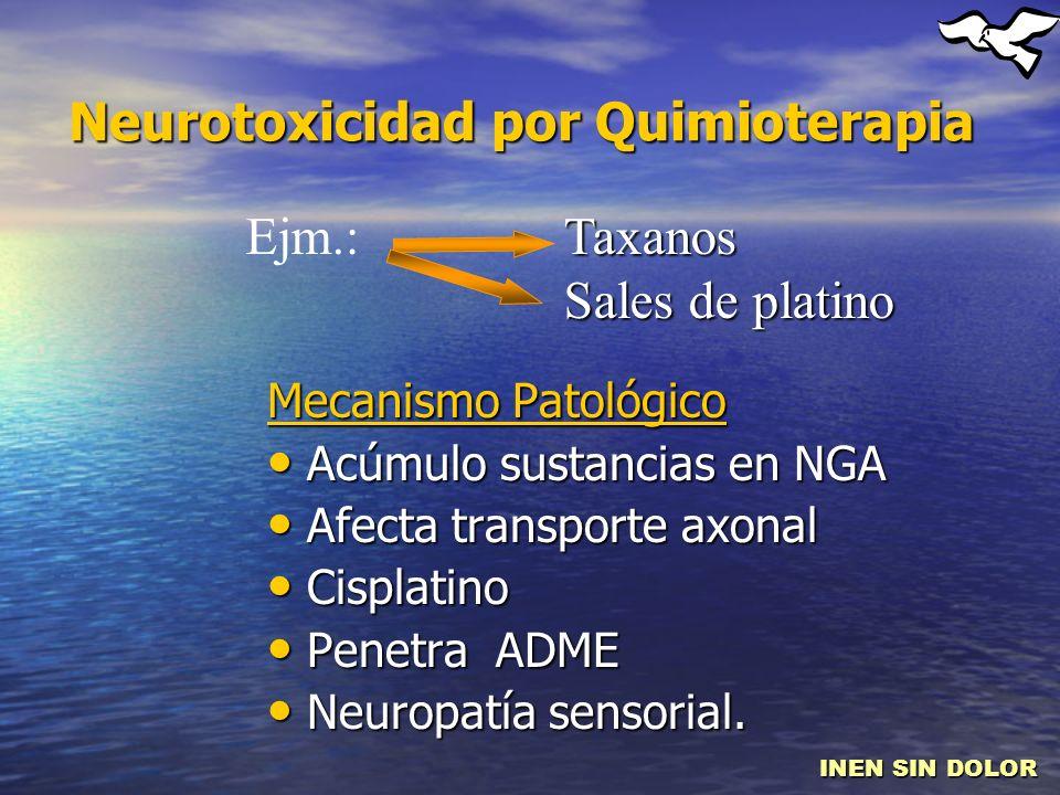 Neurotoxicidad por Quimioterapia