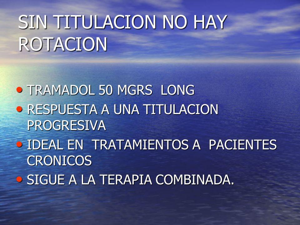 SIN TITULACION NO HAY ROTACION