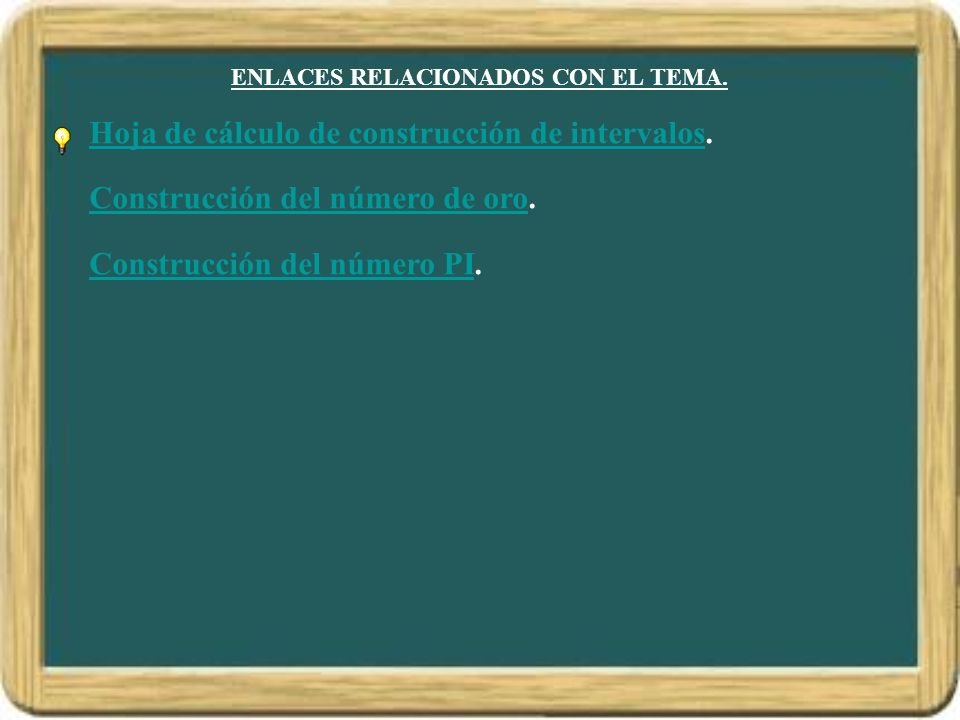 ENLACES RELACIONADOS CON EL TEMA.