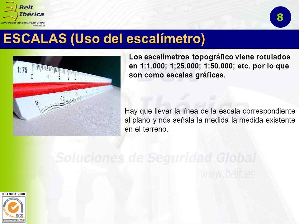 ESCALAS (Uso del escalímetro)