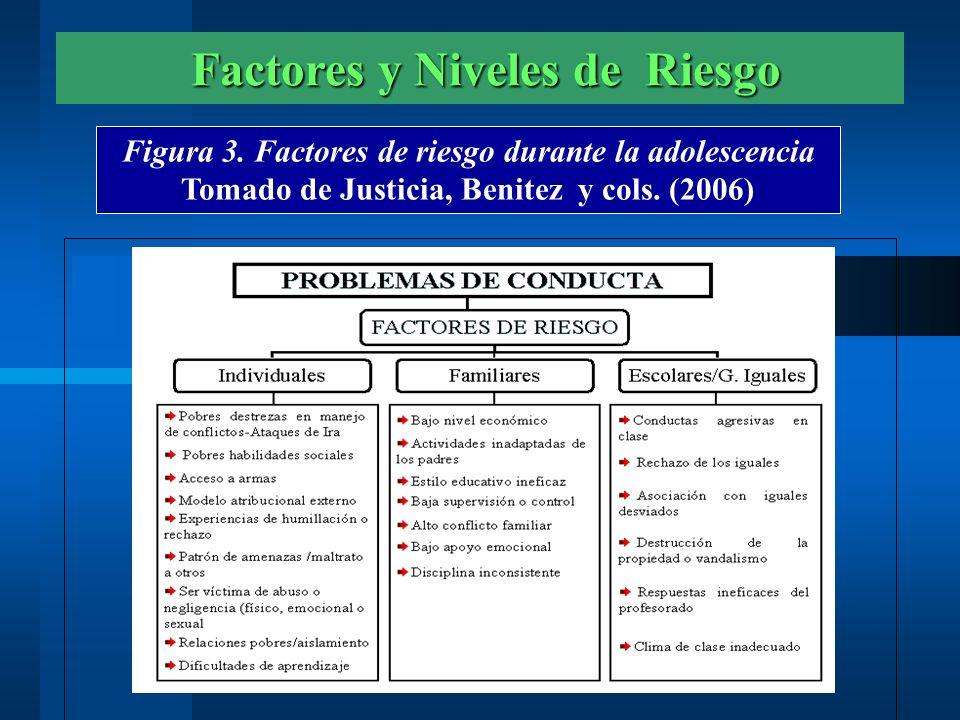 Factores y Niveles de Riesgo