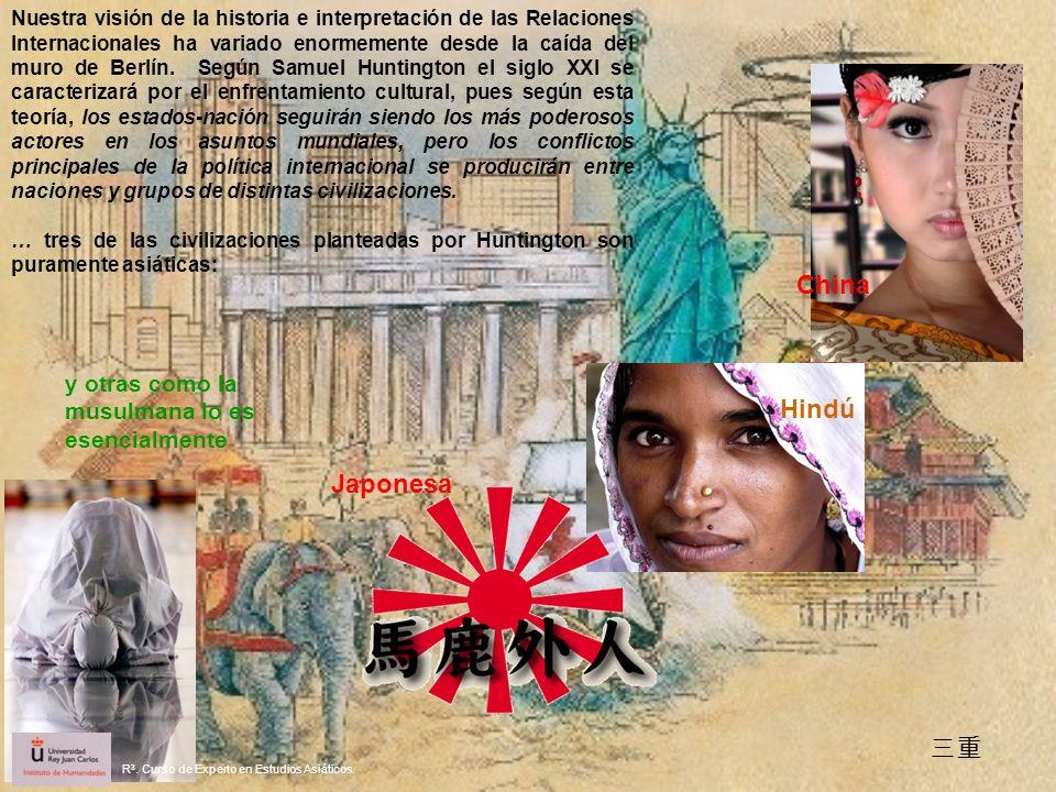 China Hindú Japonesa 三重 y otras como la musulmana lo es esencialmente