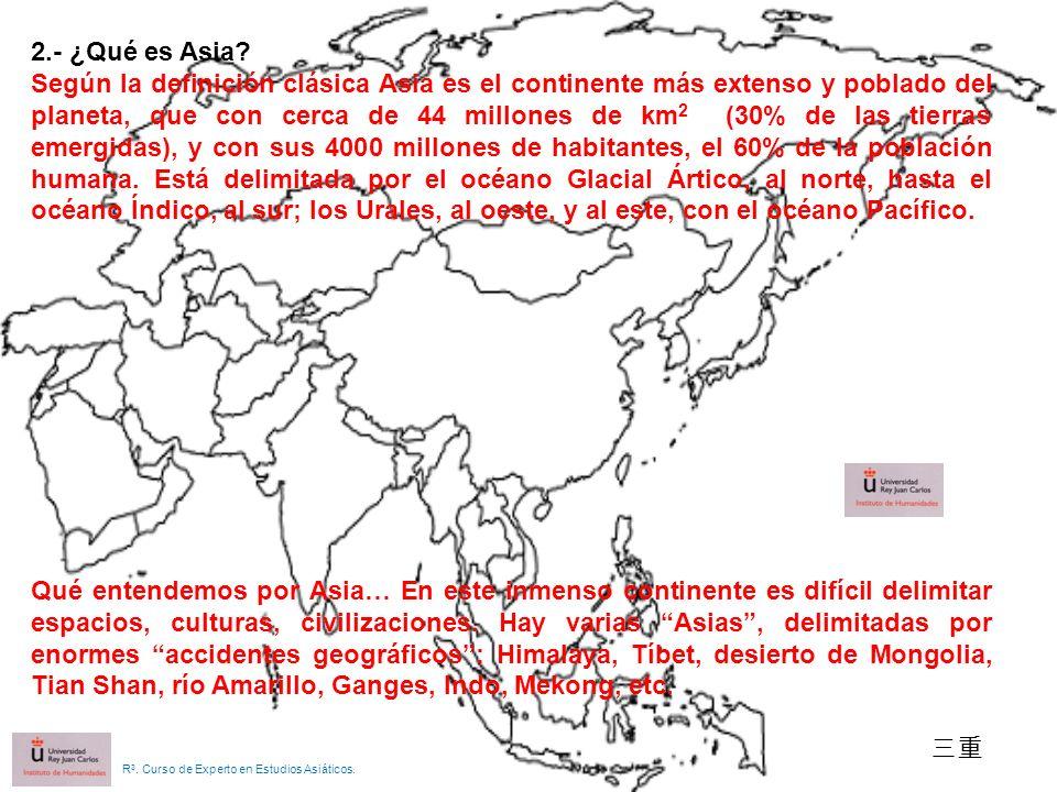 2.- ¿Qué es Asia