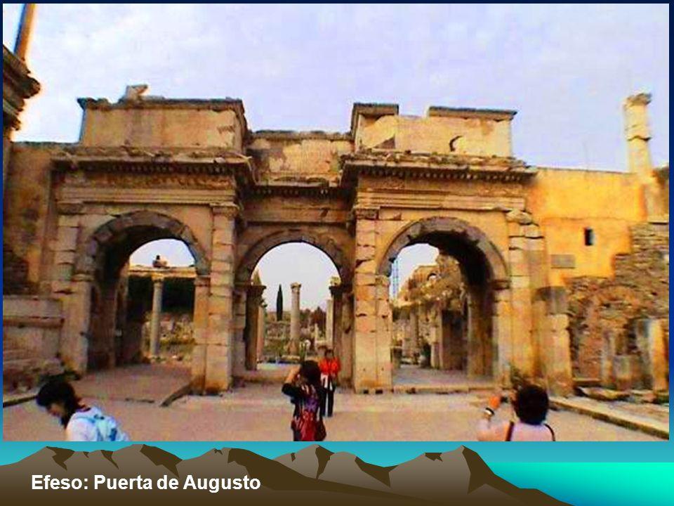 Efeso: Puerta de Augusto