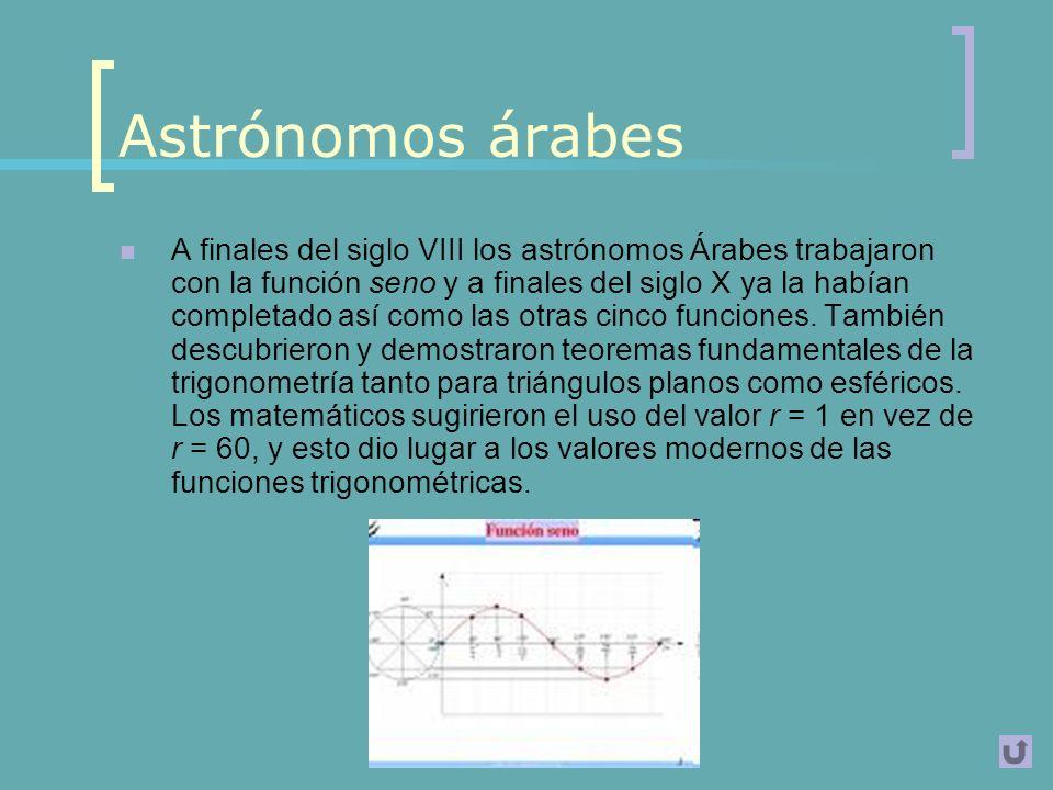 Astrónomos árabes