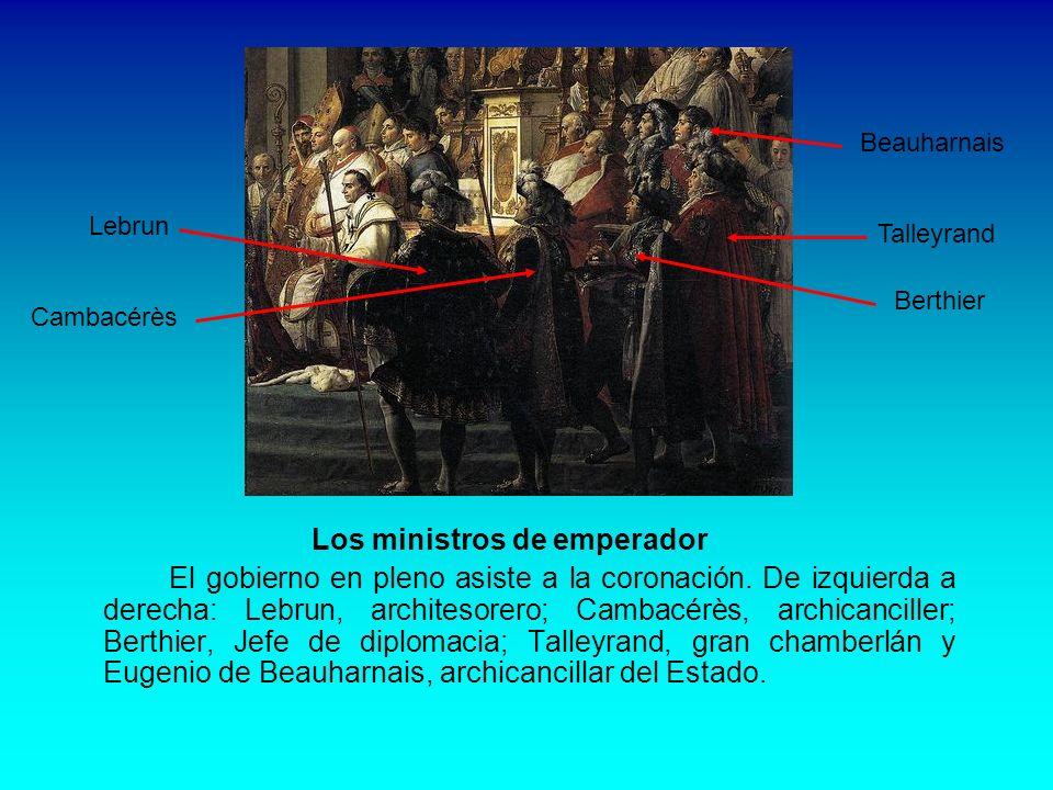 Los ministros de emperador