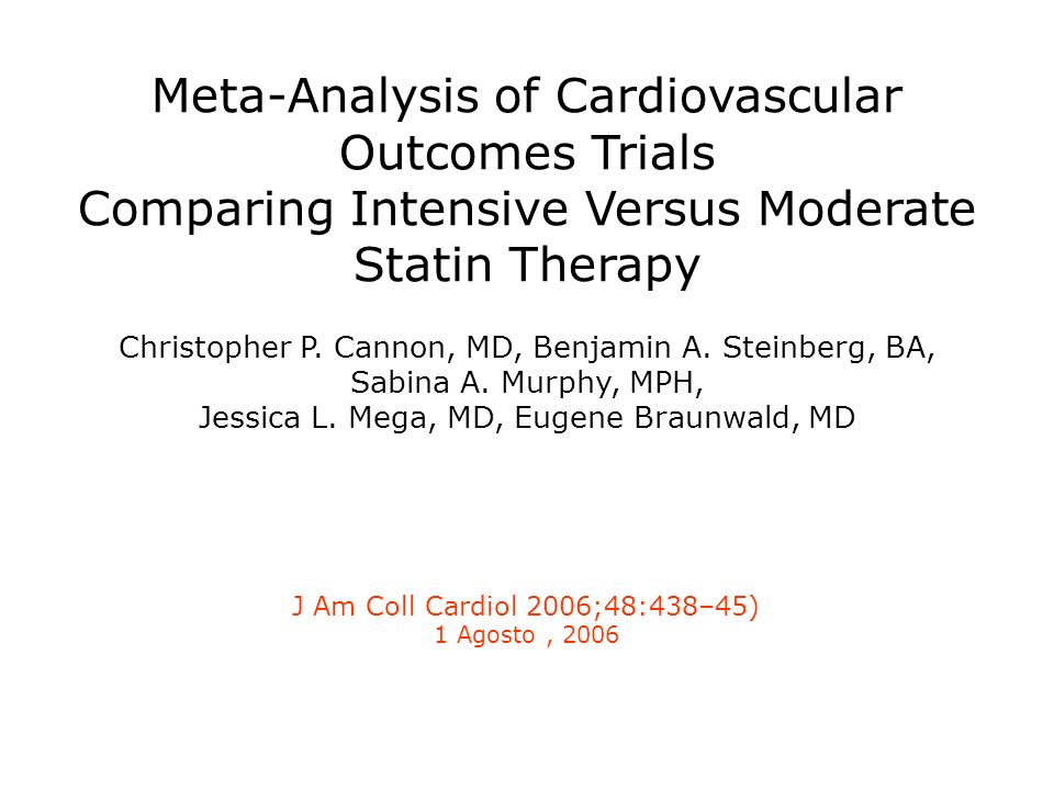 Meta-Analysis of Cardiovascular Outcomes Trials