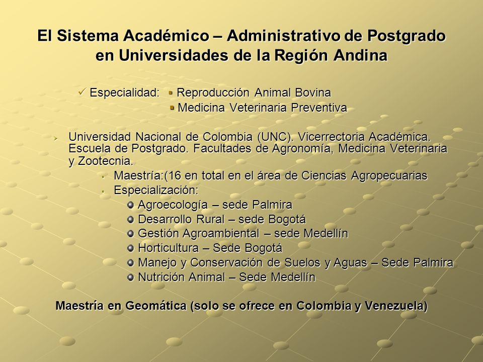 Maestría en Geomática (solo se ofrece en Colombia y Venezuela)
