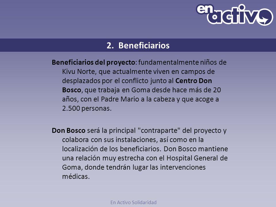 2. Beneficiarios
