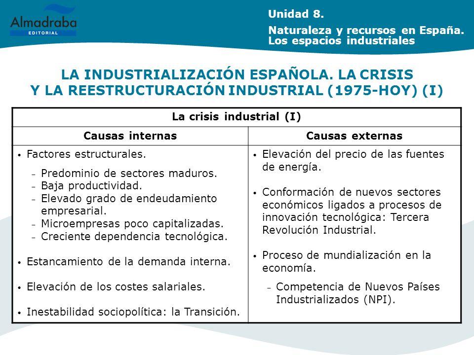 La crisis industrial (I)