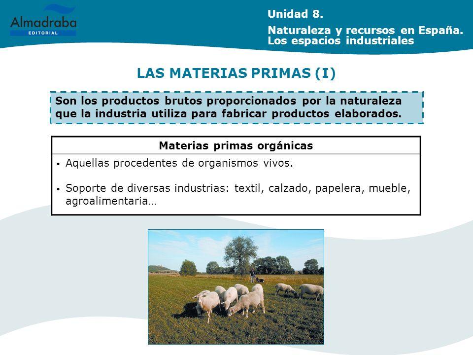 LAS MATERIAS PRIMAS (I)