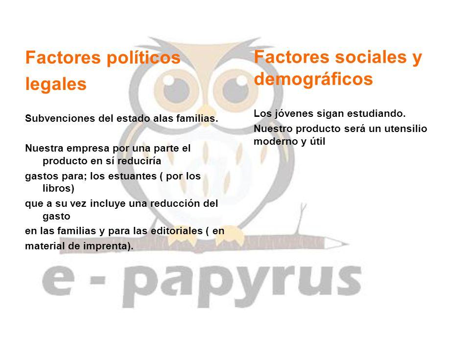 Factores sociales y demográficos