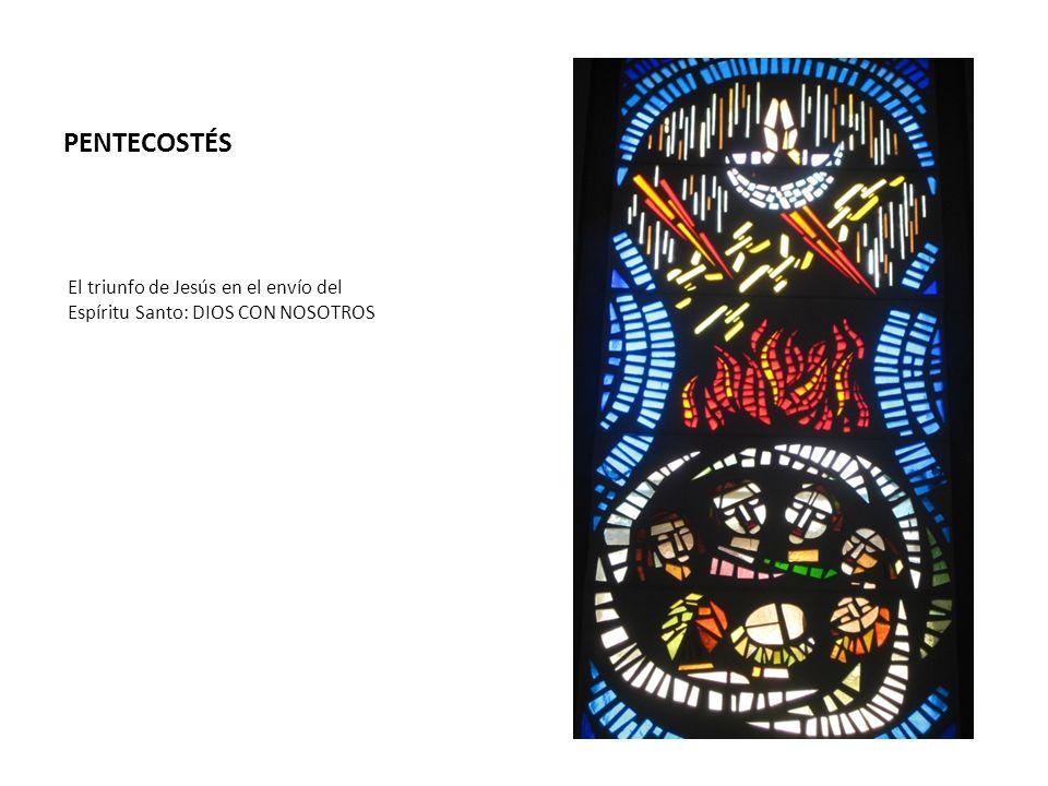 PENTECOSTÉS El triunfo de Jesús en el envío del Espíritu Santo: DIOS CON NOSOTROS
