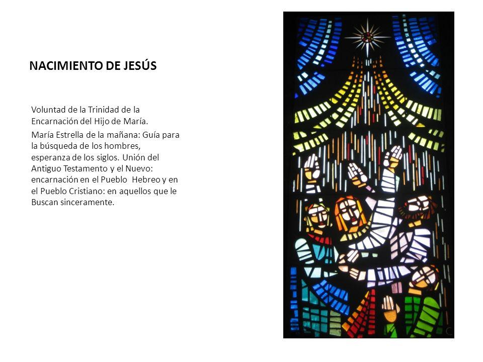 NACIMIENTO DE JESÚS Voluntad de la Trinidad de la Encarnación del Hijo de María.