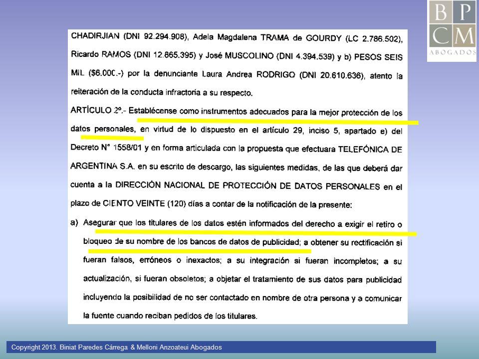 Copyright 2013. Biniat Paredes Cárrega & Melloni Anzoateui Abogados