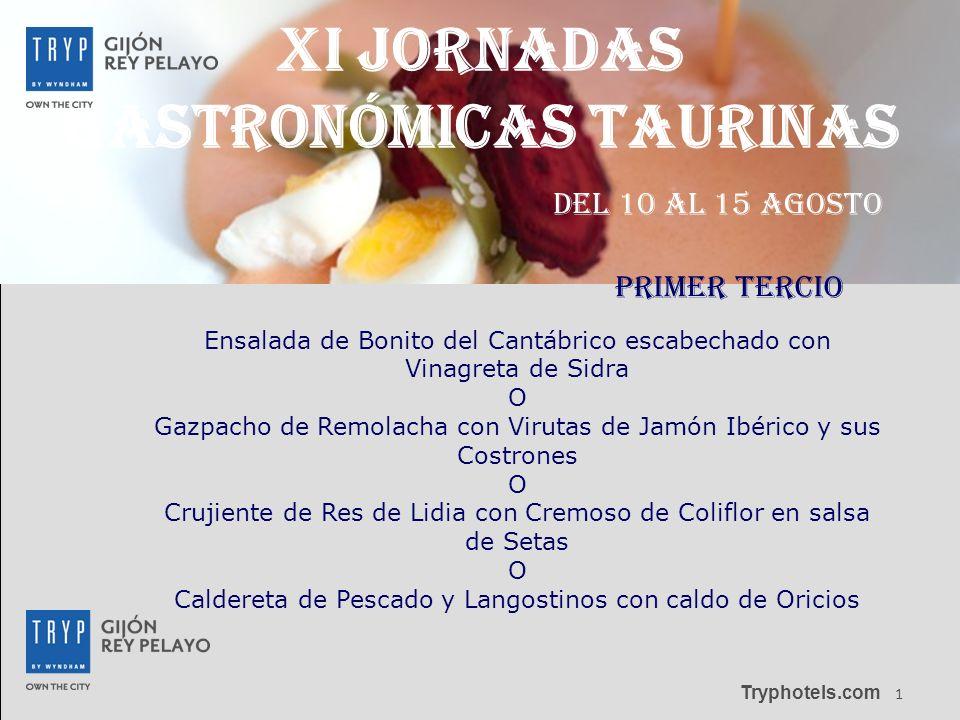 XI JORNADAS GASTRONÓMICAS taurinas