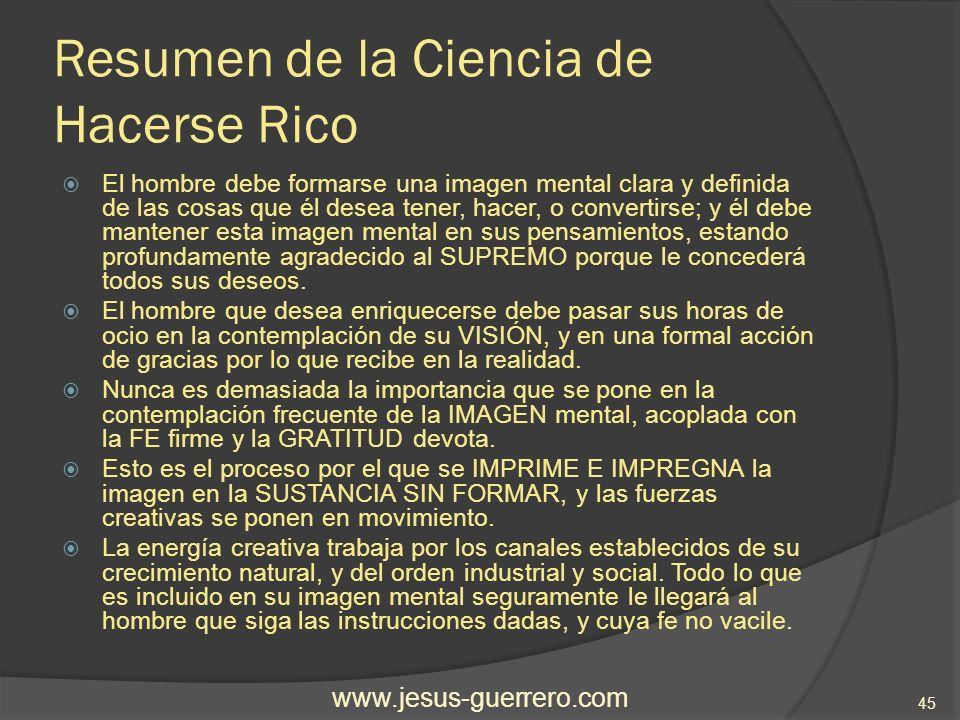 Resumen de la Ciencia de Hacerse Rico