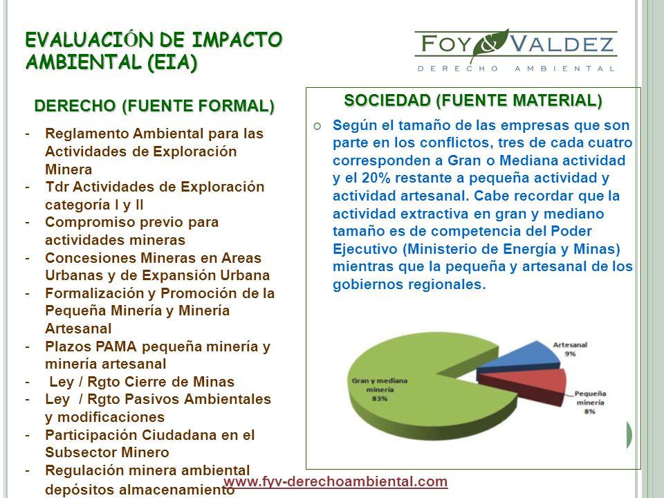 EVALUACIÓN DE IMPACTO AMBIENTAL (EIA)