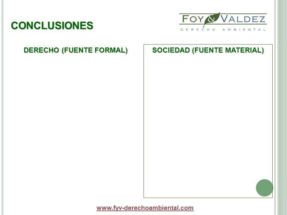 DERECHO (FUENTE FORMAL) SOCIEDAD (FUENTE MATERIAL)