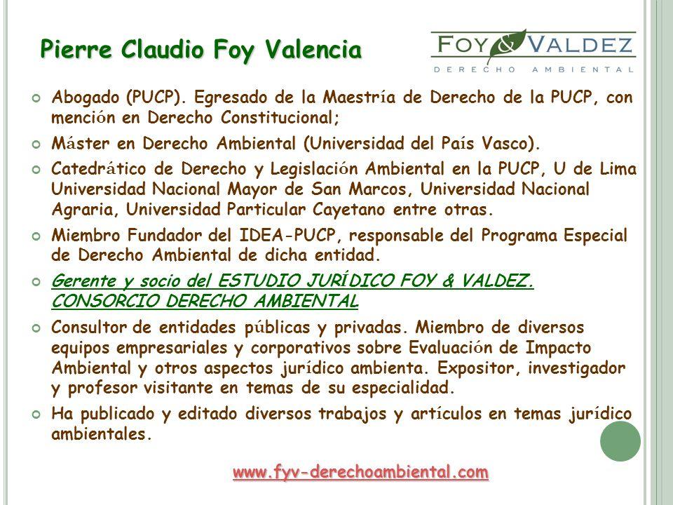 Pierre Claudio Foy Valencia