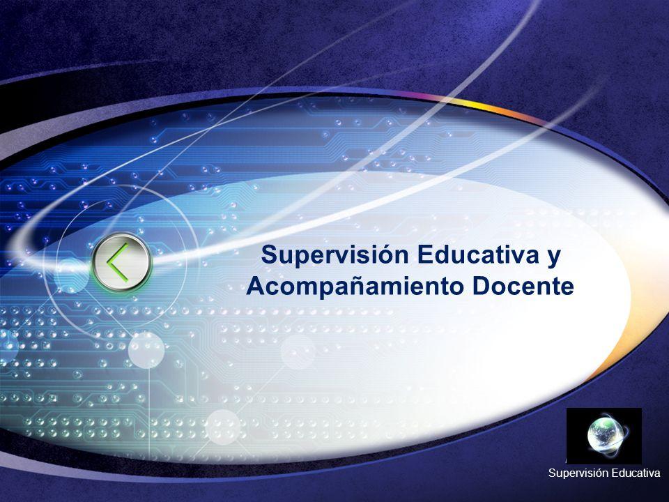 Supervisión Educativa y Acompañamiento Docente