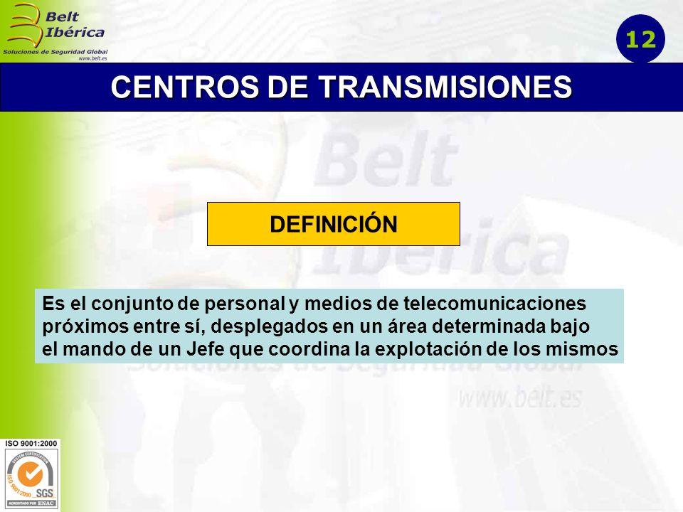 CENTROS DE TRANSMISIONES