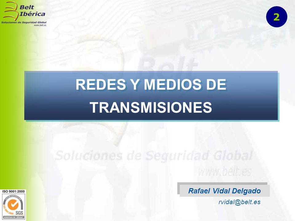 REDES Y MEDIOS DE TRANSMISIONES