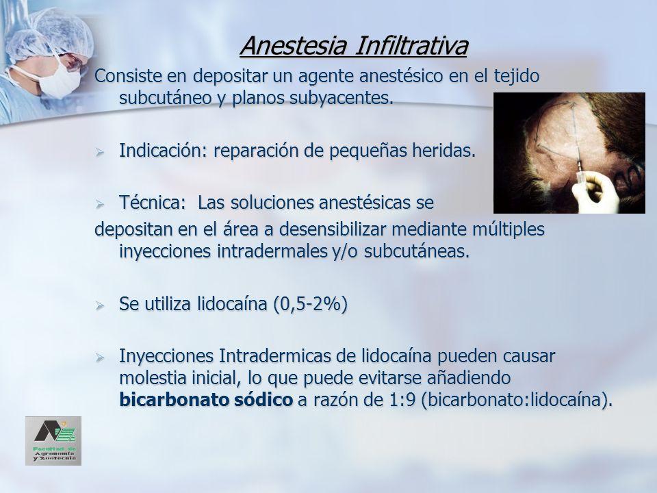 Anestesia Infiltrativa