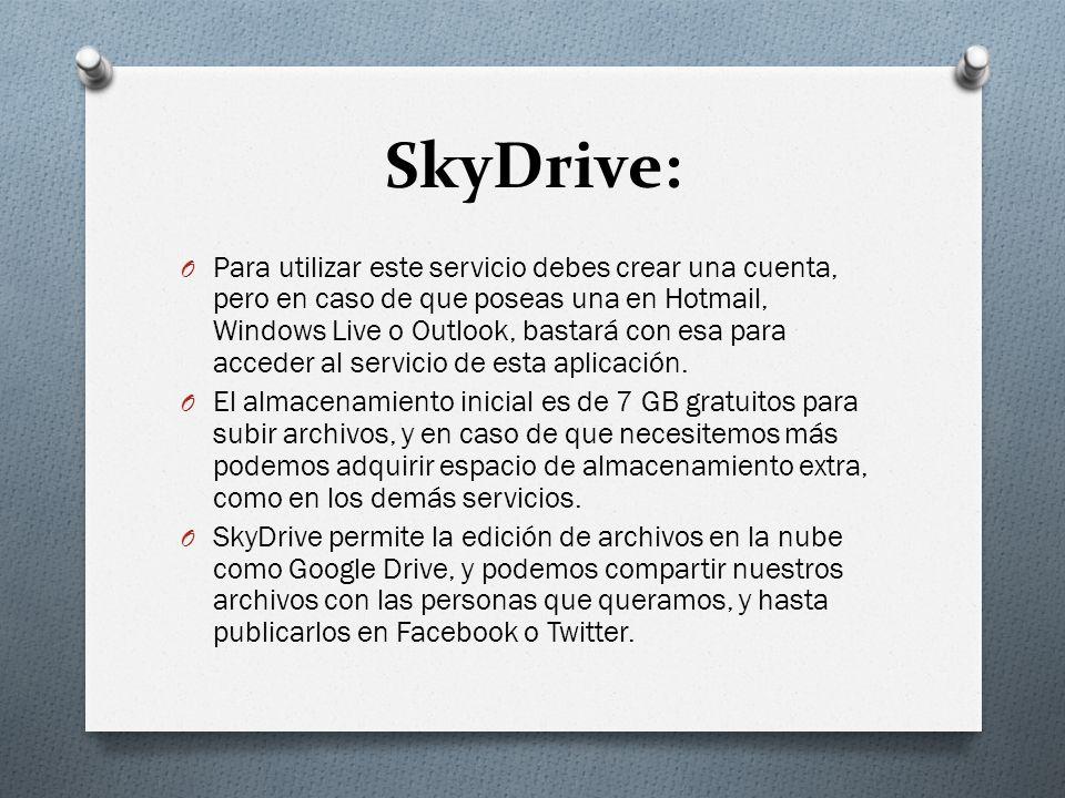 SkyDrive: