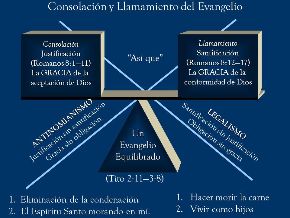 Consolación y Llamamiento del Evangelio