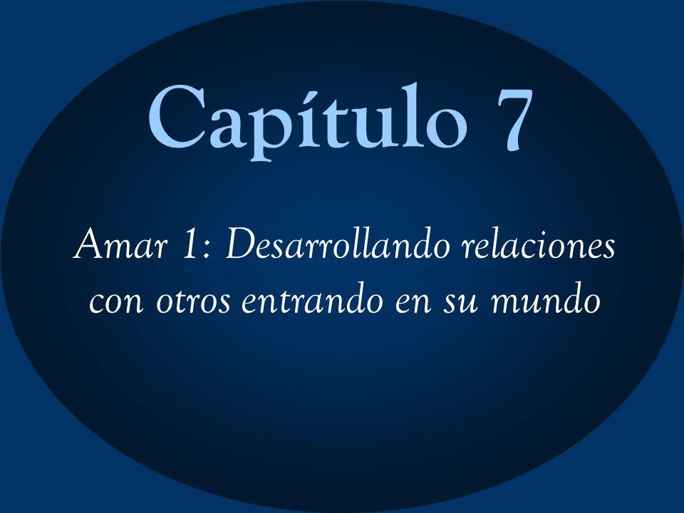 Capítulo 7 Amar 1: Desarrollando relaciones