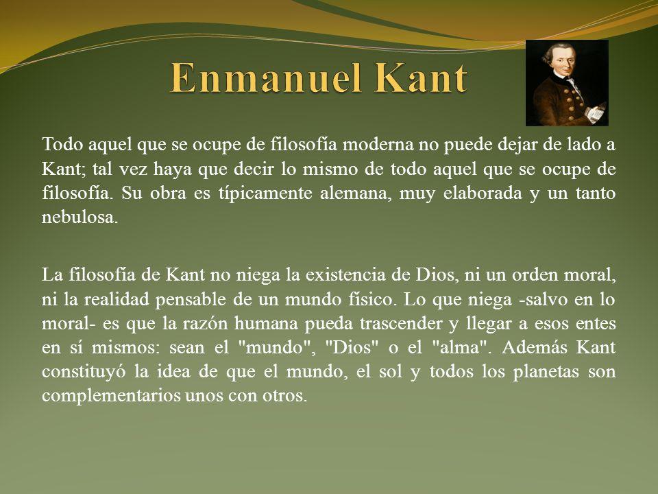 Enmanuel Kant