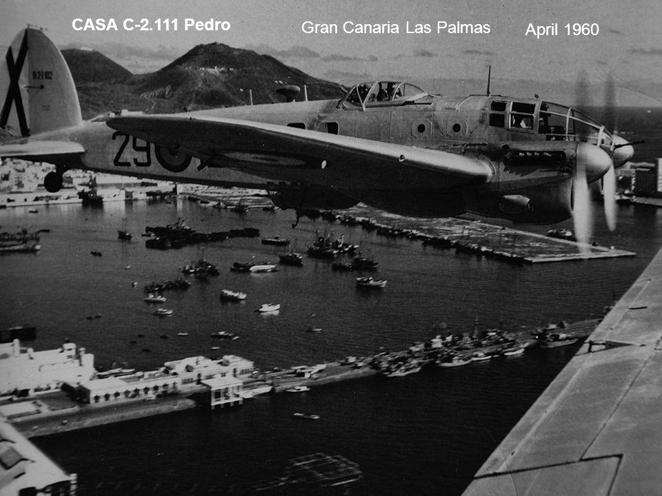 CASA C-2.111 Pedro Gran Canaria Las Palmas April 1960