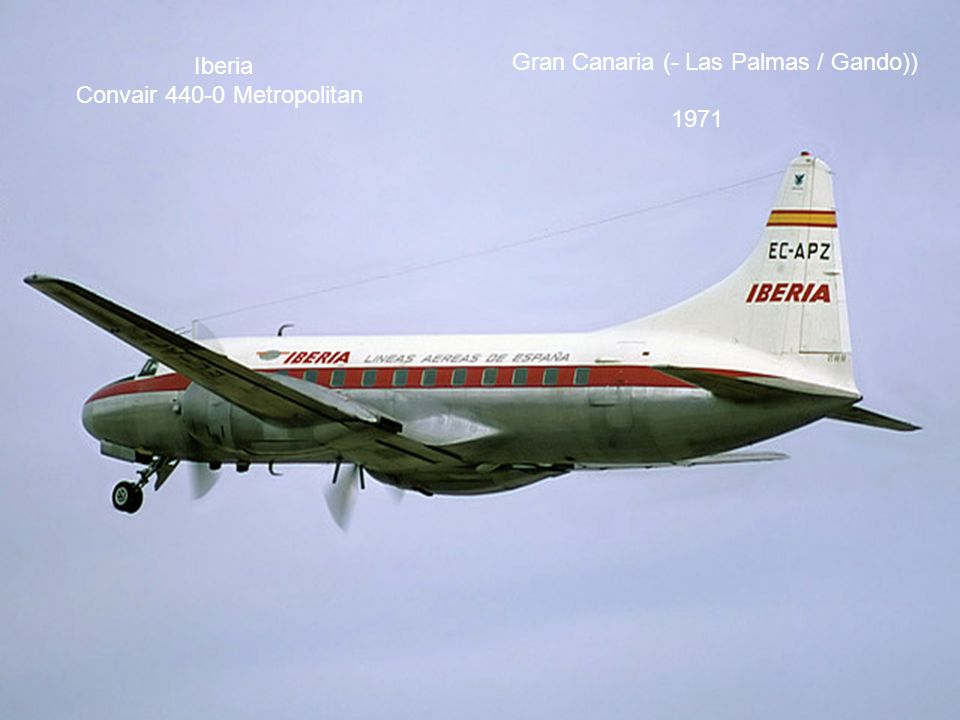 Iberia Convair 440-0 Metropolitan